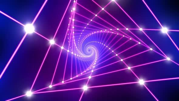 Thumbnail for Neon Light VJ Loop 4K 04
