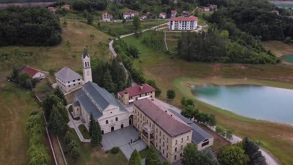 Thumbnail for Franciscan Monastery Of Rama Beside Ramsko Lake, Prozor Rama, Bosnia And Herzegovina