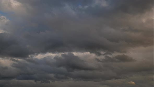 Thumbnail for Rainy Clouds Timelapse