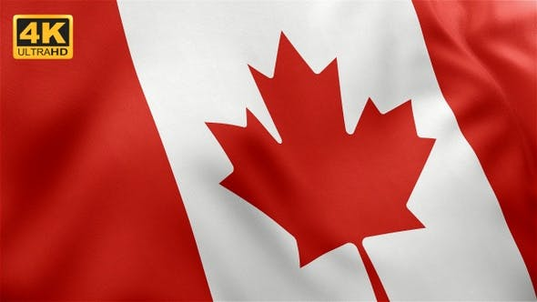 Thumbnail for Flag of Canada - 4K