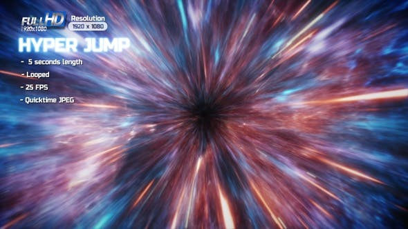 Thumbnail for Hyper Jump in Space