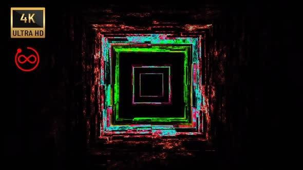 4K - Endless Cube