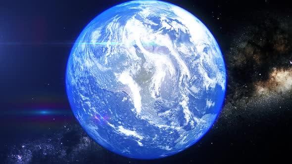 Realistic Earth Zoom Bering Strait