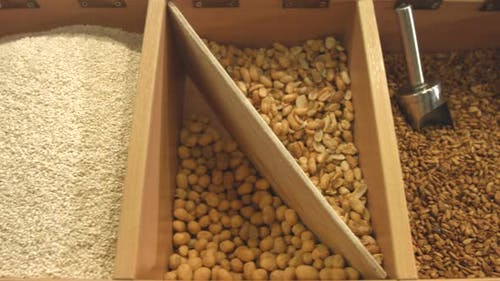 Purified Seeds of Sesame Seeds, Sunflowers and Peanuts.