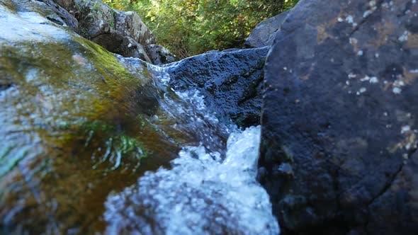 Thumbnail for Water Falling Down Between Rocks 1