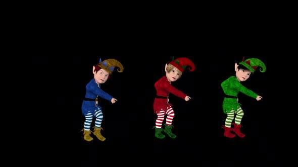 Elfs Christmas Dance