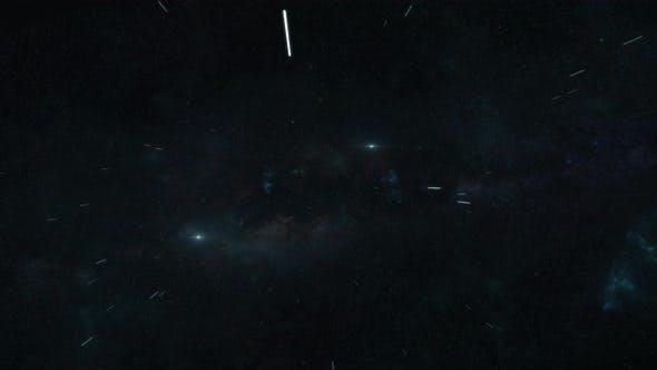 Traveling Through The Stars At Warp Speed