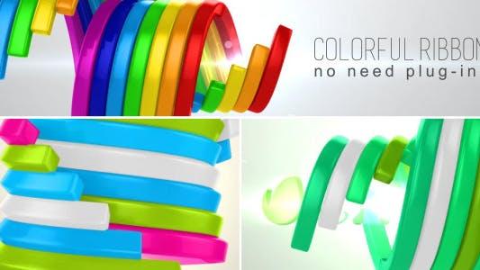 Thumbnail for Colorful Ribbon Reveal