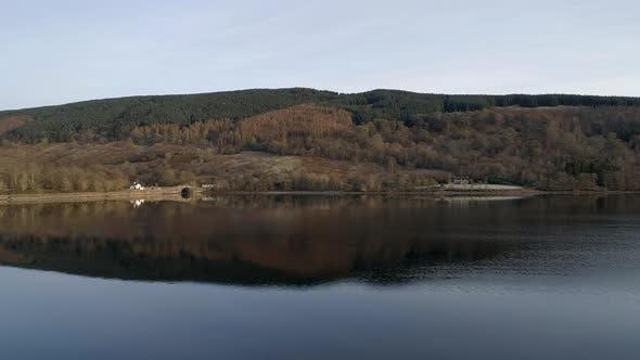 Mountain Reflected in a Still Loch in Scotland Loch Inveraray