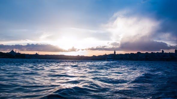 Thumbnail for Istanbul Bosphorus Sunset