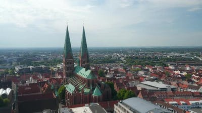 Aerial View of Old Town