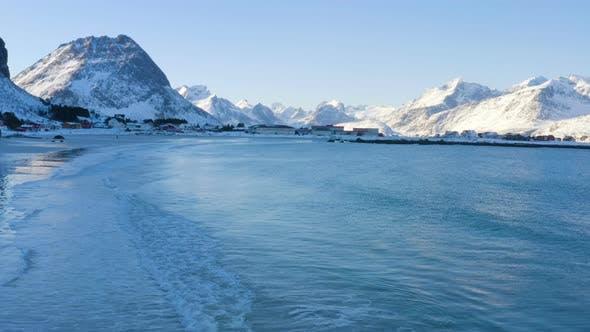 Winter Lofoten Beach 3