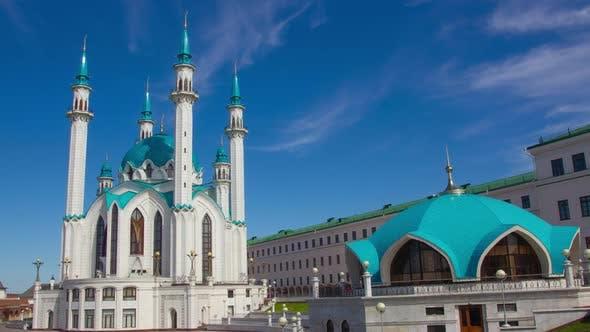 Thumbnail for Kul Sharif Mosque in Kazan Kremlin, Timelapse