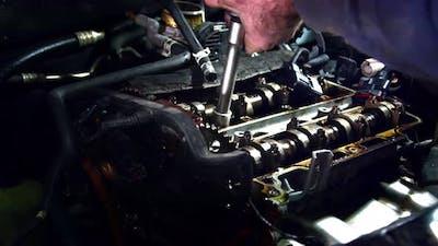 Valve Cover  Repair In Auto Shop