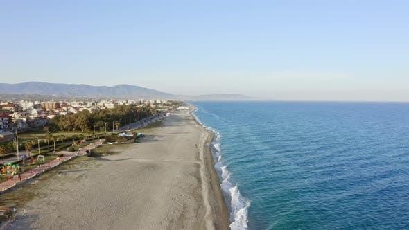Beach of Locri Calabria