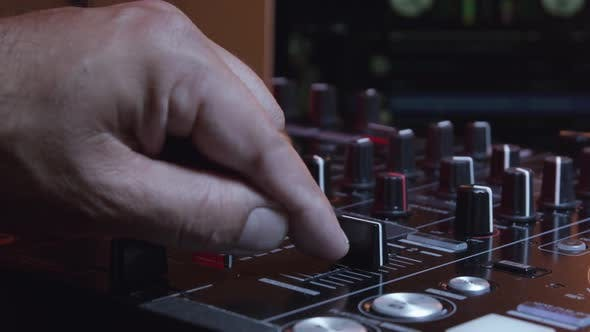 Thumbnail for DJ Hands Working With Musical Equipment 07