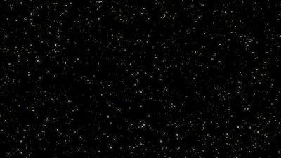 Sparkling Golden Stars