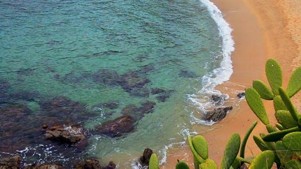 Turquoise Mediterranean Beach