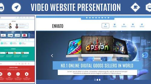 Video Website Presentation - Promote Your Company