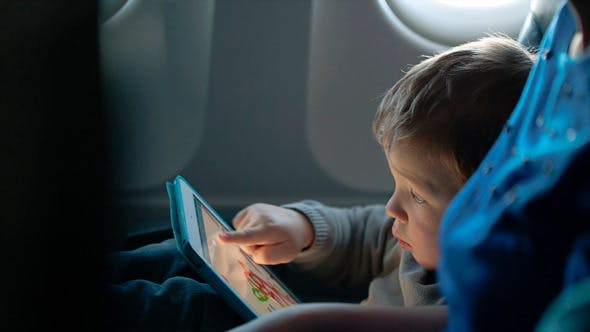 Thumbnail for Little Boy Traveling in An Airplane