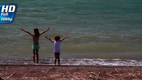 Young Children and Surf
