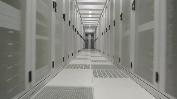 Cover Image for Aisle in data center