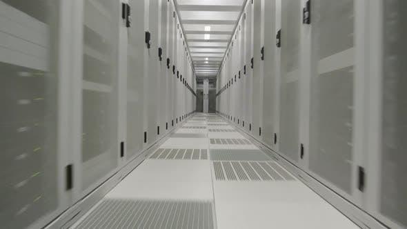 Thumbnail for Aisle in data center