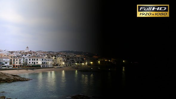 Cover Image for Time Lapse Fishing Mediterranean Village