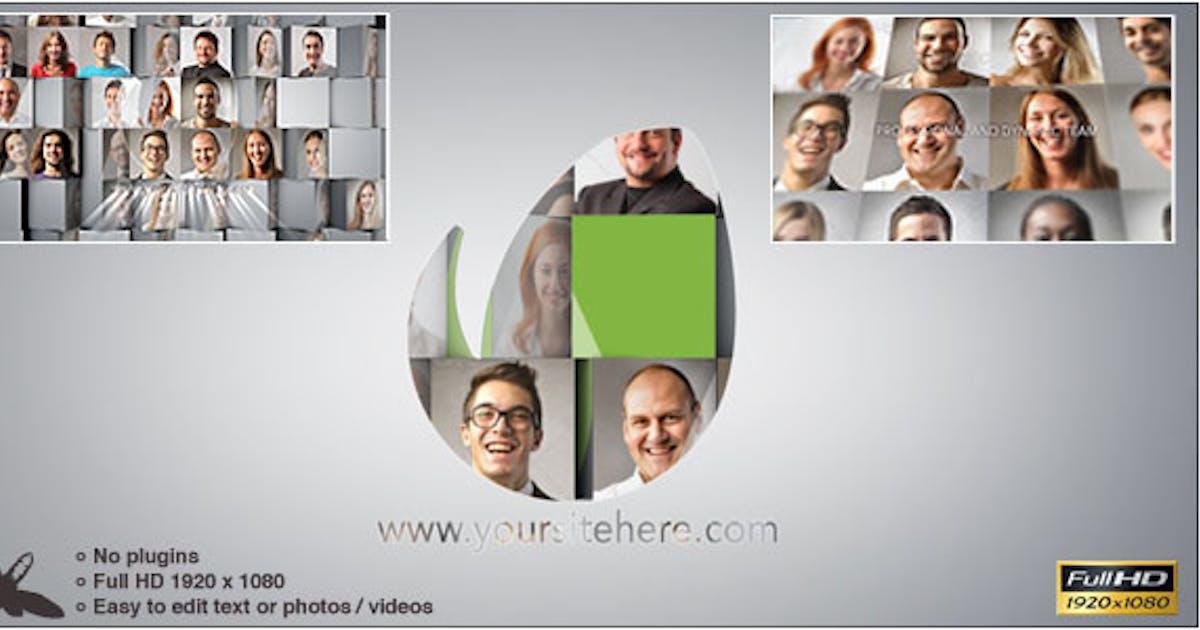 Corporate Mosaic Logo by Ultinato