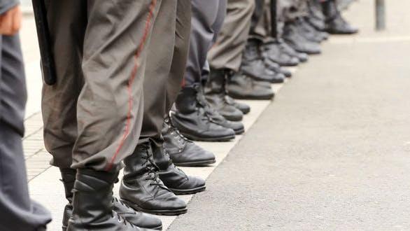 Thumbnail for Police Cordon Legs, Russia