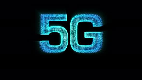Thumbnail for Futuristic Digital 5G Holographic Icon