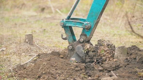 Thumbnail for Working Excavator Bucket