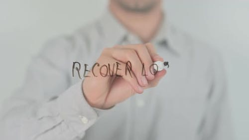 Recover Loss Writing on Screen with Hand