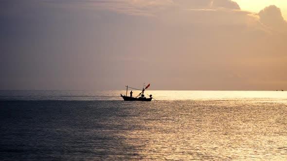 Thumbnail for Fisherman At Sea