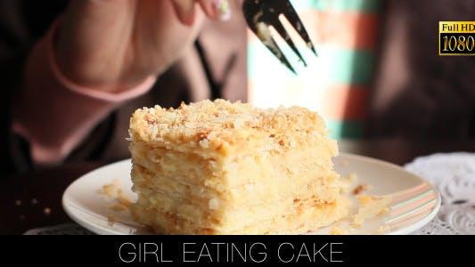Thumbnail for Girl Eating Cake
