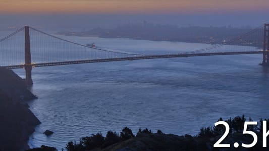 Thumbnail for Golden Gate At Dawn