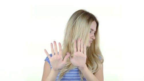 Stop, Rejecting Gesture