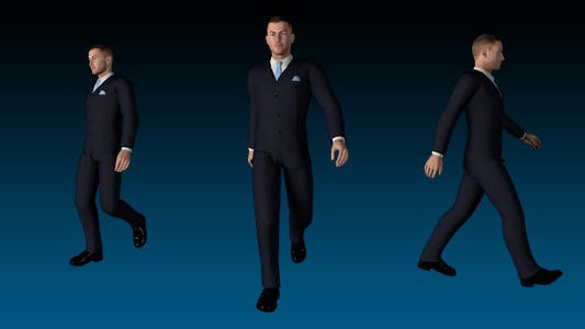 Thumbnail for Businessman Walk Cycle