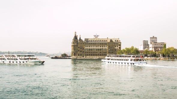 Thumbnail for Haydarpasa and Boats At Bosphorus