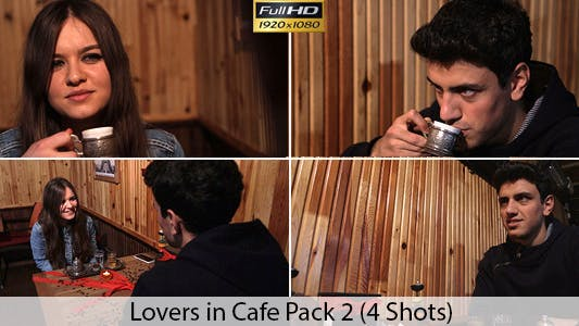 Thumbnail for Young Couple In Cafe