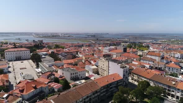 Thumbnail for Aerial View of Beautiful and Historical City of Aveiro, Portugal