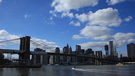 Thumbnail for Brooklyn Bridge 02 and the East River Full HD