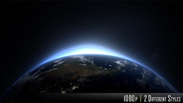 Sunrise Over the Earth - North America