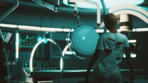 Lost Patient in MRI Laboratory