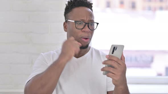 Thumbnail for Portrait of Upset Casual African Man Reacting To Failure
