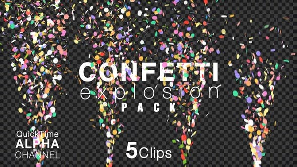 Happy Birthday Celebration Confetti