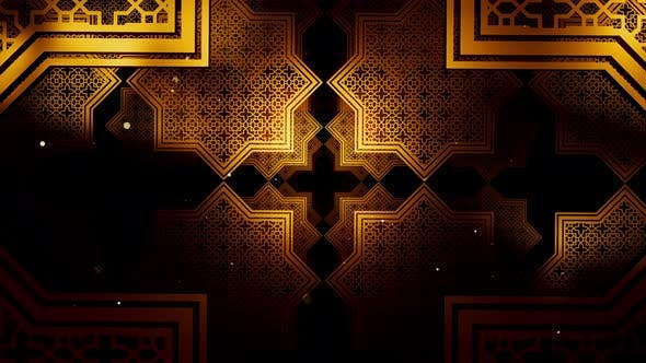 Thumbnail for Ramadan Kareem In Islamic Pattern 02 4K