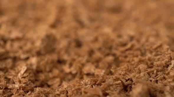 Thumbnail for Footage Drehen Trockener Spice Safran Hintergrund