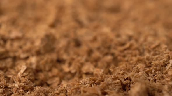 Footage Rotate Dry Spice Saffron Background