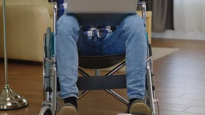 Businessman in Wheelchair